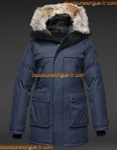 Manteau doudoune longue femme pas cher